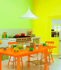 Color Schemes In Home Decor - Green and yellow color scheme living room