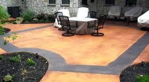 outdoor concrete stain concrete patios southern textures concrete