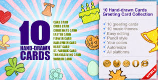 10 cards greeting card collection by fresh look