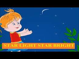 Star Light Star Bright Lyrics Star Light Star Bright Kids Nursery Songs With Lyrics Youtube