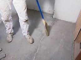 Fix Basement Floor Cracks by How To Repair Concrete Cracks How Tos Diy