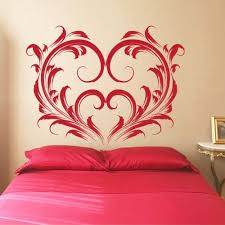 Heart Wall Stickers For Bedrooms 145 Best Stencils U0026 Wall Decals Images On Pinterest Wall Decals
