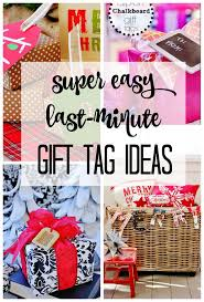four easy last minute gift tag ideas thistlewood farm