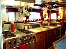 Boat Galley Kitchen Designs Alaska Pirate U0027s Pride Yacht Charter Details Converted Crowley
