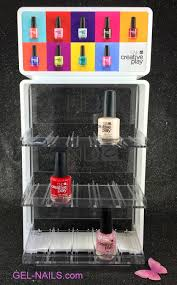 cnd clear creative play nail polish display rack jpg