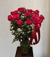 Long Stem Rose Vase Flowers U003e 2 Dozen Long Stem Rose Vase