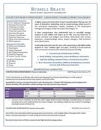 Construction Executive Resume Samples by 27 Best Resume Samples Images On Pinterest Career Resume And