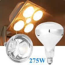 Bathroom Infrared Heat Light E27 275w Infrared Heat L Light Bulb For Ceiling Exhaust Fan