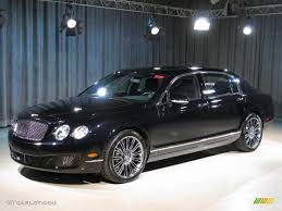 bentley flying spur black interior 2010 onyx black bentley continental flying spur speed 17971359