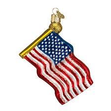 flag christmas ornaments amazon com
