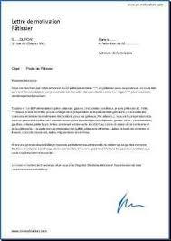 lettre motivation apprentissage cuisine lettre de motivation apprentissage modèle de lettre