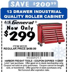harbor freight 13 drawer tool box cabinet 299 the 1947