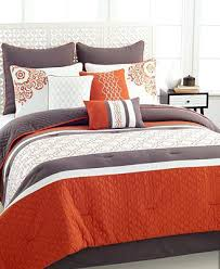 Orange Bed Sets Green And Orange Comforter Sets Bg Orange Green Comforter Sets