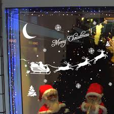 Window Christmas Decorations by Aliexpress Com Buy New Christmas Decoration Decal Window