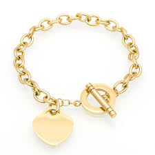 gold chain heart bracelet images Hot sale love bracelet new style brand women bracelet gold chain jpg