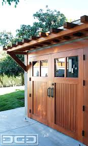 three door garage pergolasmall pergola over trellis doors medium image for pergola idea over our carriage doorsbuild garage door designs