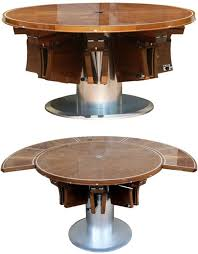 rotating dining table rotating dining adjustable db fletcher dining table expands as per your requirements