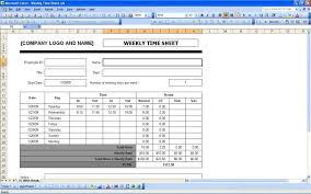 Timesheet Excel Template Weekly Timesheet Template Sheet Template 13 40 Free