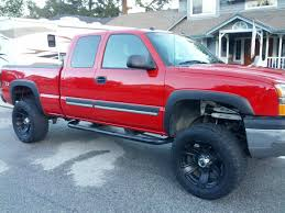 Red Lifted Chevy Silverado Truck - for sale ca 04 red lifted silverado chevrolet forum chevy