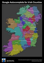 Game Of Thrones Google Map Pic The Google Autocomplete Map Of Ireland Is The Funniest Map Of