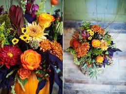 pumpkin inspired fall wedding thanksgiving centerpieces utah