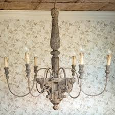 French Wire Chandelier Park Hill Collection Vintage Home Decor