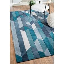 Modern Blue Rug Contemporary Nuloom Rugs U0026 Area Rugs Shop The Best Deals For Oct