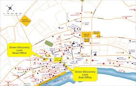 Map Of Laos Laos City Tourist Map Laos U2022 Mappery