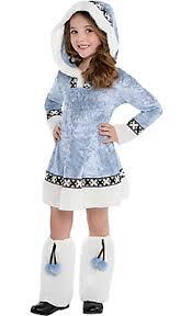 Girls Princess Halloween Costumes Toddler Girls Arctic Princess Costume Party Spooky
