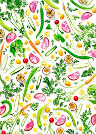Kitchen Curtains With Fruit Design by Colorful Healthy Food Arrangements Food Vegetable Illustration