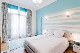 chambre blanc bleu gris beau déco chambre bleu turquoise 12 asnieres