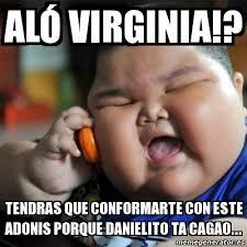 Adonis Meme - meme fat chinese kid al祿 virginia tendras que conformarte con