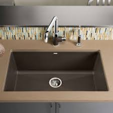 Single Kitchen Sinks by Precis Super Single Bowl Kitchen Sink By Blanco Yliving