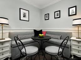 dining room comfortable small dining space furnitures gray