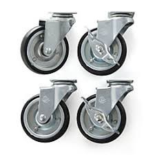 casters for kitchen island set of 4 casters for belmont kitchen island crate and barrel