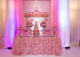 carousel baby shower pink baby shower image carousel in pink ba shower ba shower ideas