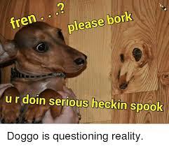 this special meme request goes out to bork bork i am doggo