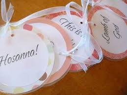 Christian Easter Decorations Ideas by The Homespun Heart Names Of Jesus Garland Easter