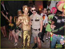 halloween party fun chace crawford u0026 julian morris halloween party fun photo