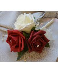 Red Rose Corsage Mums Corsages And Buttonholes