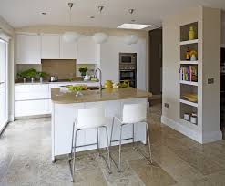 ceramic tile countertops kitchen island breakfast bar lighting