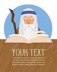 santa haggadah moses reading passover haggadah stock vector lipmic 102404112