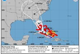 the friday before hurricane irma u0027s us mainland landfall 4 things