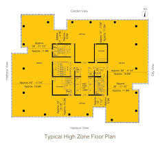 floor plan goldin financial global centre