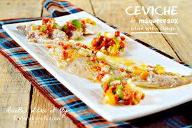 cuisiner les maquereaux ceviche ou tartare maquereaux citron vert et chorizo kaderick