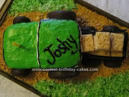 coolest tractor birthday cake