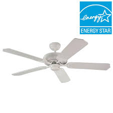 Ceiling Fans With 5 Lights Sea Gull Lighting Quality Max Collection 52 In White 5 Blade