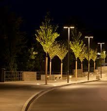 outdoor pole light fixtures urban lpost contemporary aluminum led tabulare s double