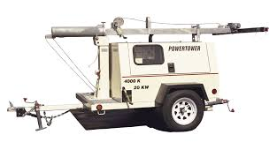 light tower parts plus powertower trailer mounted light towers frontier power products
