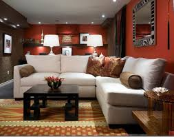 decor endearing living room paint ideas with stone fireplace